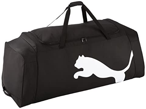 Puma Team XXL Sports Bag on Wheels 124 cm Black black / white Size:124 x 50 x 43 cm