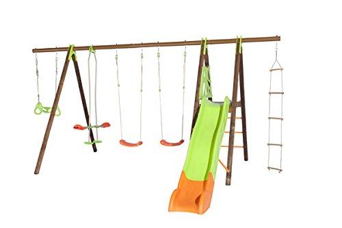 Klettergerüst Metall Garten : ▷ schaukel mit rutsche aus metall märz kaufen test vergleich