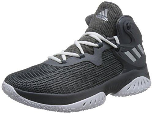 adidas Unisex-Erwachsene Explosive Bounce Basketballschuhe, Verschiedene Farben (Gricua/Plamet/Gricin), 43 1/3 EU