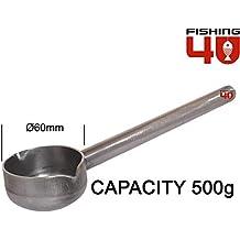 Moldes para plomos de pesca. Fishing4U Playa Torpedo Molde 100 – 120 – 140 – 160 gr/Pesca Molde (
