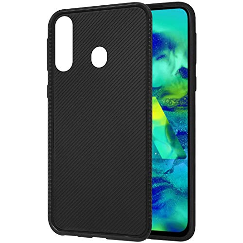 Amazon Brand – Solimo Mobile Cover for Samsung Galaxy M40 (Soft & Flexible Back case), Black
