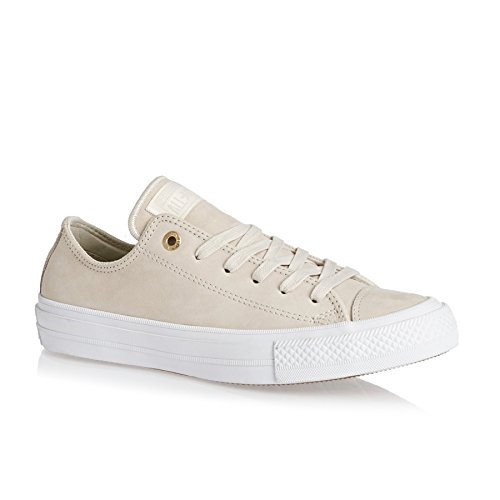 Converse Chuck Taylor All Star II Buff Leather Trainers Nude