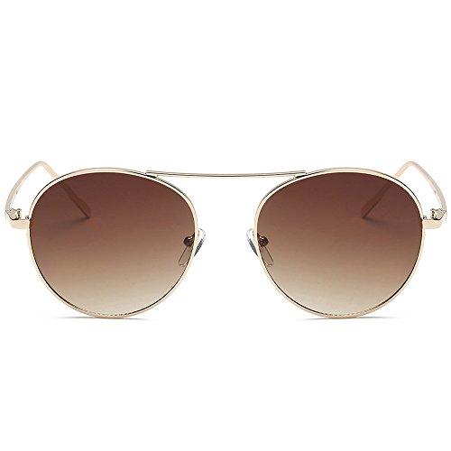 DOLLAYOU Unisex Sonnenbrille mit Acetat-Rahmen und UV-Brille Gr. Einheitsgröße, e