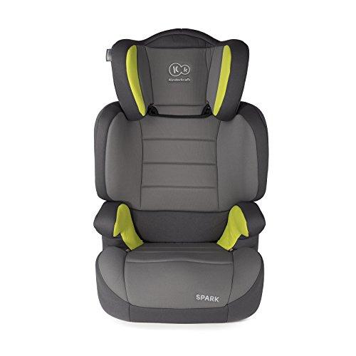Kinderkraft Spark UP Kinderautositz Kindersitz Autokindersitz 15 bis 36 kg Gruppe 2 3 (Grün)