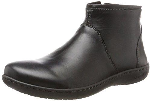 BIRKENSTOCK Shoes Damen Bennington Chelsea Boots, Schwarz (Black), 38 EU