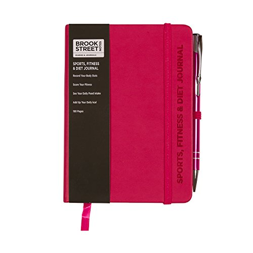 sports-fitness-diet-notebook-hardback-a6-diet-gift-fuchsia-pink