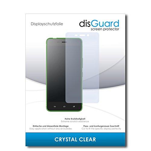 disGuard® Bildschirmschutzfolie [Crystal Clear] kompatibel mit Hisense C30 Lite [2 Stück] Kristallklar, Transparent, Unsichtbar, Extrem Kratzfest, Anti-Fingerabdruck - Panzerglas Folie, Schutzfolie