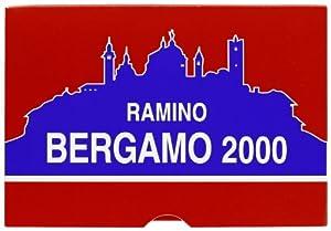Masenghini 12010 Ramino Bergamo 2000 Duplex - Baraja de Cartas para Rummy Importado de Italia