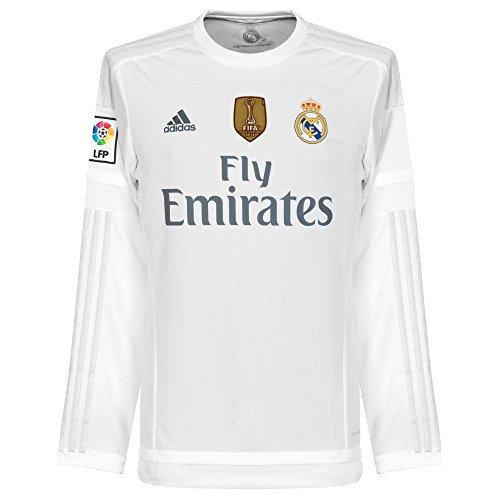 adidas Real H JSY LWC Herren T-Shirt S Weiß/Grau