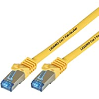 Ligawo - Patch Cable Cat.7 per dispositivi con connessione di rete / Internet, 5m, Giallo