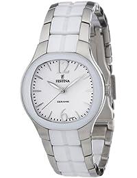 Festina Damen-Armbanduhr XS Trend Ceramic Analog Quarz verschiedene Materialien F16626/1