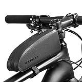 ROCKBROS Fahrrad Rahmentasche Oberrohrtasche Wasserdicht 23.5 * 6.5 * 10.5cm