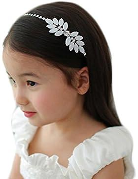 Tiaras Para el Pelo Flores Accesorios Para el Cabello Boda Niñas Dama de Honor Coronas de Flores Novia Princesas