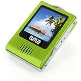 "Neonumeric - lecteur NM2 (MP3-MP4 - haut parleur écran 1,5"" - Radio FM) - NM2-1024 GREEN - 1 Go"
