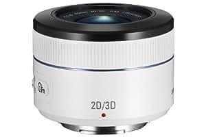 Samsung EX-S45ADW Objectif  pour Samsung NX 45 mm f 1.,8 Blanc pour Appareil photo gamme NX