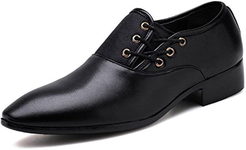 Männer Lederschuhe Spitzschuh Schuhe Schnürschuhe Mode  Billig und erschwinglich Im Verkauf