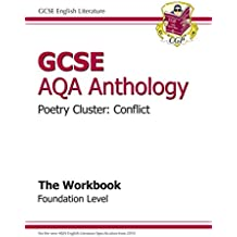 GCSE Anthology AQA Poetry Workbook (Conflict) Foundation (A*-G Course)