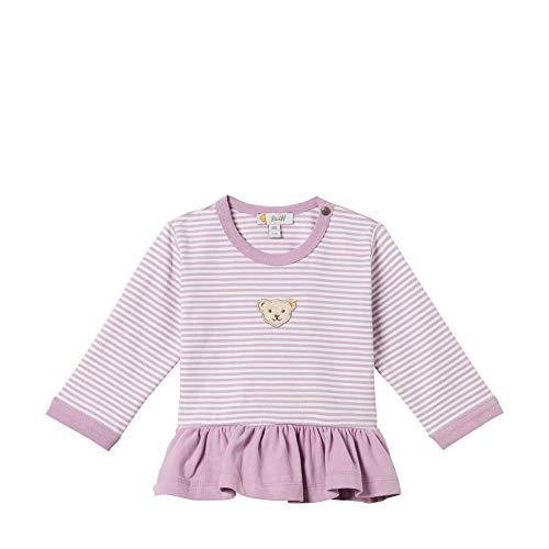 Steiff Baby - Mädchen Langarmshirt , Violett (LAVENDER MIST 7020) , 86 (Herstellergröße:86) -
