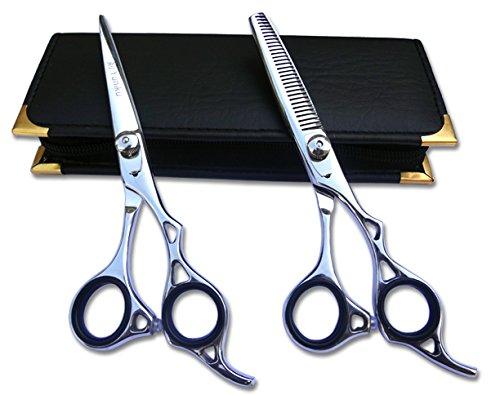 Professionnels Ciseaux de coiffure & Ciseaux Barber Salon Coiffure Ciseaux de coupe de cheveux 6.0 Plus Fine