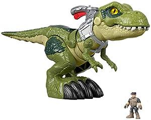 Imaginext - Jurassic World Tiranosaurio Megamandíbula Juguete para niños +3 años (Mattel GBN14)
