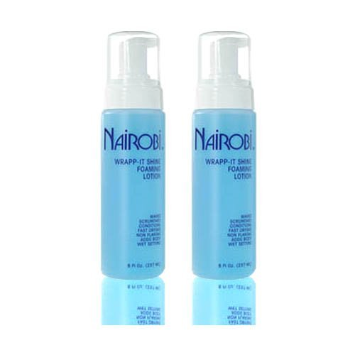 Nairobi Wrapp It Shine Foaming Lotion 8 Fl Oz 237 Ml Pack Of 2 By Nairobi Buy Online In Belize Missing Category Value Products In Belize See Prices Reviews And Free