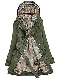Amazon.it  trench donna - Cappotti   Giacche e cappotti  Abbigliamento c3afce6b0b1