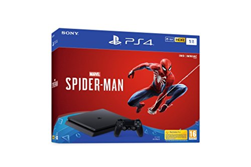 Foto PlayStation 4 1TB + Marvel's Spider-Man [Bundle]