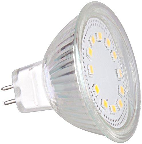 XQ-Lite XQ1413 Spot/réflecteur LED, Plastique, GU5.3, 3 W, Blanc
