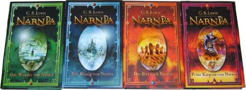 Narnia Band 1 bis 4 (Das Wunder von Narnia - Der König von ... - Der Ritt nach ... - Prinz Kaspian von ...)