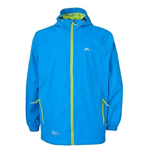 2eab63551354f8 ... Trespass Qikpac Jacket, Cobalt, M, Kompakt Zusammenrollbare Wasserdichte  Regenjacke / Funktionsjacke / Wetterjacke ...