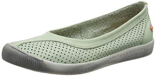 Softinos  Iol389sof, Pumps femme Green (Pastel Green)
