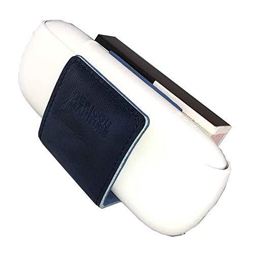 GC German Couture GC® Leder-Clip für IQOS 3 Pocket Charger und Heets, aus echten Leder Design by Lifestyle and Fashion, Germany