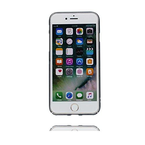 Custodia iPhone 6S, iPhone 6 6s copertura (4.7 pollici) | Gel durevole TPU morbido protettivo Case posteriore Stars Polvere anti shock | Cartoon Unicorn unicorno rosa # 7