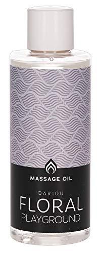 ORION Massage-Öl Darjou Floral Playground 100 ml - aphrodisierendes Öl für Partnermassage, veganes Massagegel mit pflegendem Inhalt, langanhaltend (Ylang Ylang)
