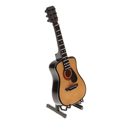 MagiDeal Escala 1/6 Instrumento Musical en Miniatura para 12 Pulgadas Figuras de Acción - Guitarra