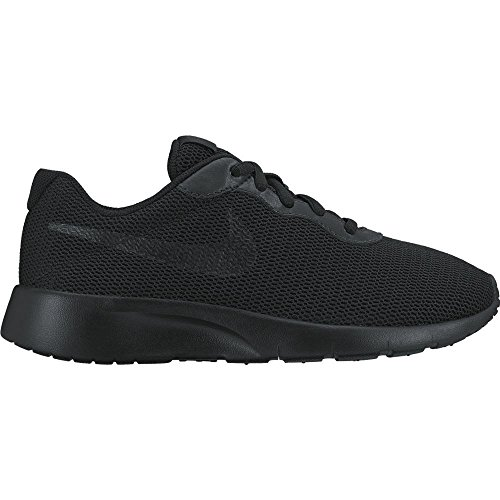 Nike Tanjun Gs 818381 001 Scarpe Donna Running Mesh Total Black