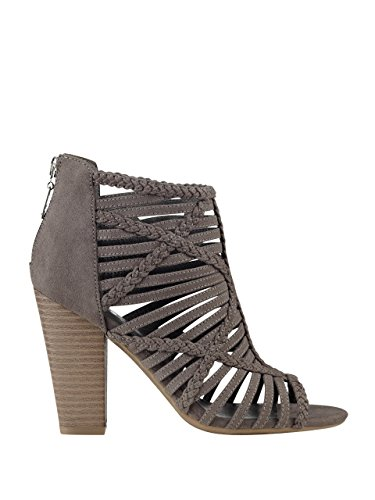 G By Guess Jelus Toile Sandales Dark Gray