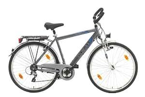 Texo Herren Trekking-Fahrrad 71,1 cm (28 Zoll) ,Alu, gefedert, mit 24-Gang Shimano Acera Kettenschaltung