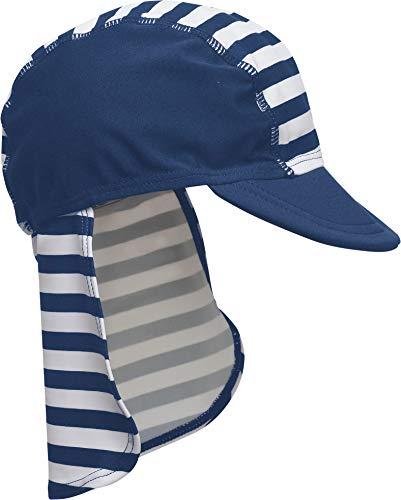 Playshoes Jungen Bademütze Maritim von Playshoes mit UV-Schutz nach Standard 801 und Oeko-Tex Standard 100, Gr. (Herstellergröße: 51), Mehrfarbig (original)
