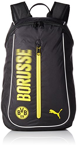 Puma Unisex Bvb Fanwear Backpack Rucksack cyber yellow-puma black