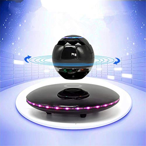 WJSW Altavoces Bluetooth levitantes LED Multicolor