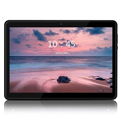LNMBBS Tablet 10 pollici Full HD - (3G/WiFi, Android 7.0, RAM 2GB, Memoria Interna 32 GB, Quad-Core) (Nero)