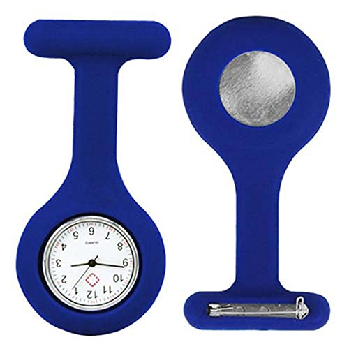 TRIXES-Nurses-Gel-Silicone-Plastic-Fob-Watch