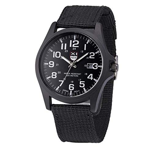 Leder,Einfach Stil Mädchen Armbanduhr Analoge Quarzuhr Beiläufig Uhr Geschenk,Runde Zifferblattgehäuse Lederarmband Uhren ()
