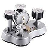 HoneybeeLY Drum Spielzeug, Elektronische Mini Finger Drum Desktop Neuheit Set