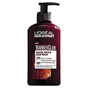 L'Oreal Men Expert Barber Club 3-in-1 Beard, Hair & Face Wash, 200ml