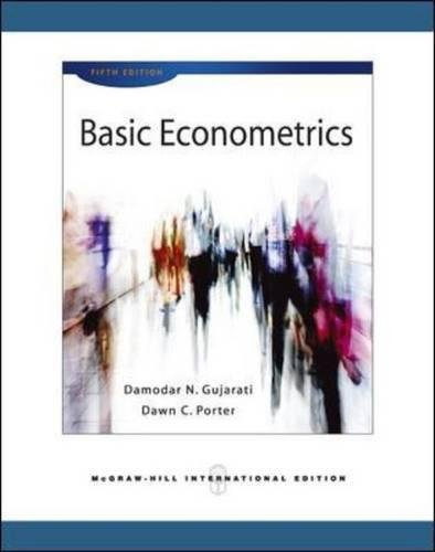 Basic econometrics (Scienze)