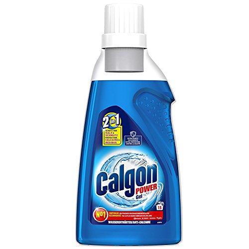 Calgon 2in1 Gel, Wasserenthärter gegen Kalk & Schmutz in der Waschmaschine, 3er Pack, 3 x 750 ml