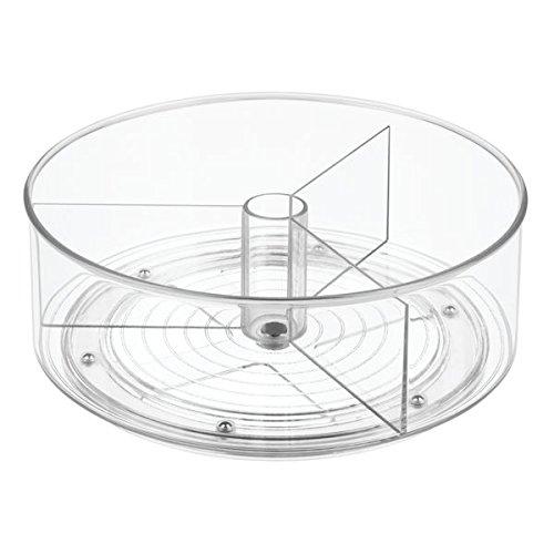 mdesign lazy susan plateau tournant accessoire de. Black Bedroom Furniture Sets. Home Design Ideas