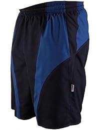 Stanteks Men's Swimming Trunks Black/Dark Blue Size: XXL